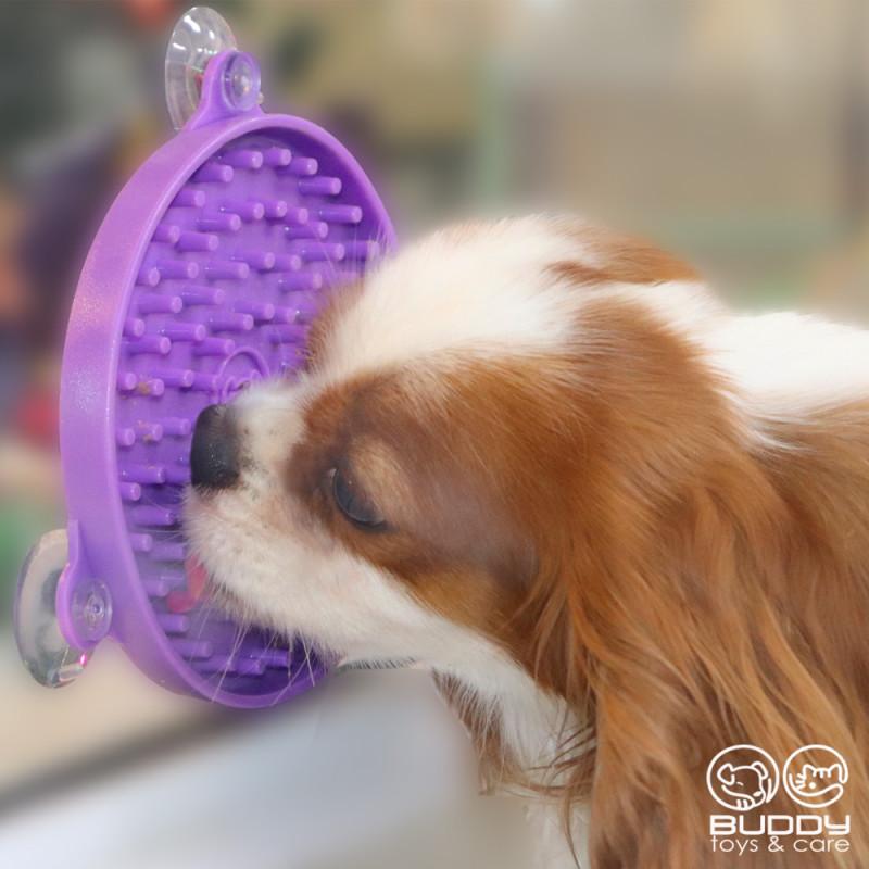 Comedouro Lento Buddy Lambe para Cães e Gatos - Buddy Toy