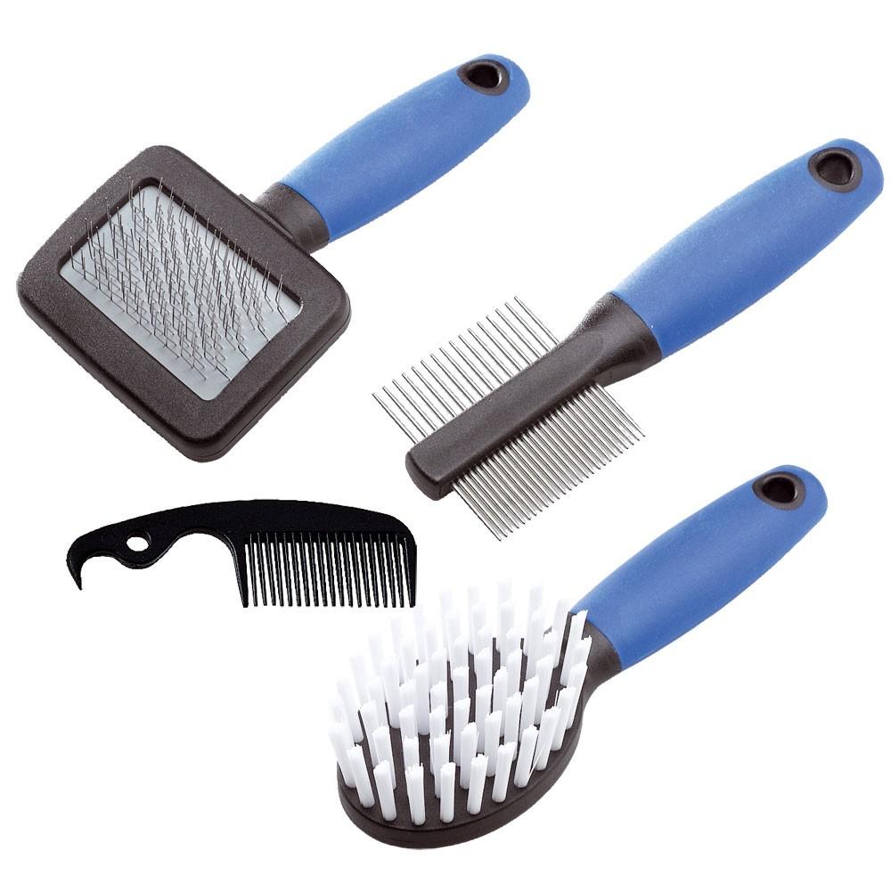 Conjunto de Escovas Grooming Para Coelhos - GRO 5998 - Ferplast