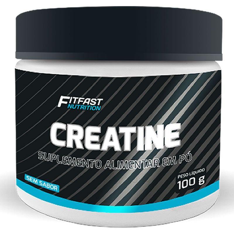 Creatina Monohidratada 100g Fit Fast Nutrition