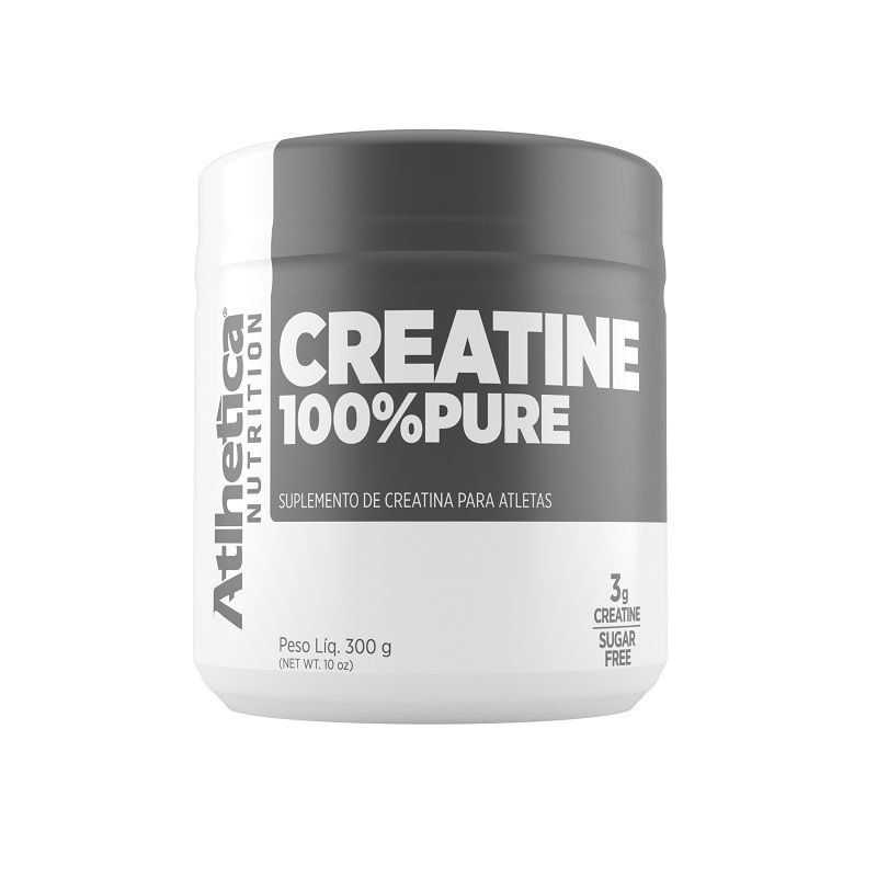 Creatine 100% Pure (300g) - Atlhetica Nutrition