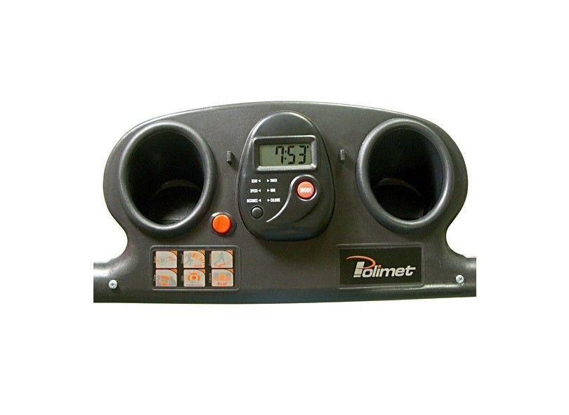 Esteira EP-1100 1.25HP Monitor 5 Funções Bivolt Polimet