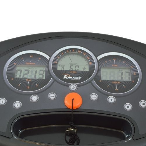 Esteira EP-16K 3,0HP Painel 5 Funções Trava Vertical 12 Programas Polimet