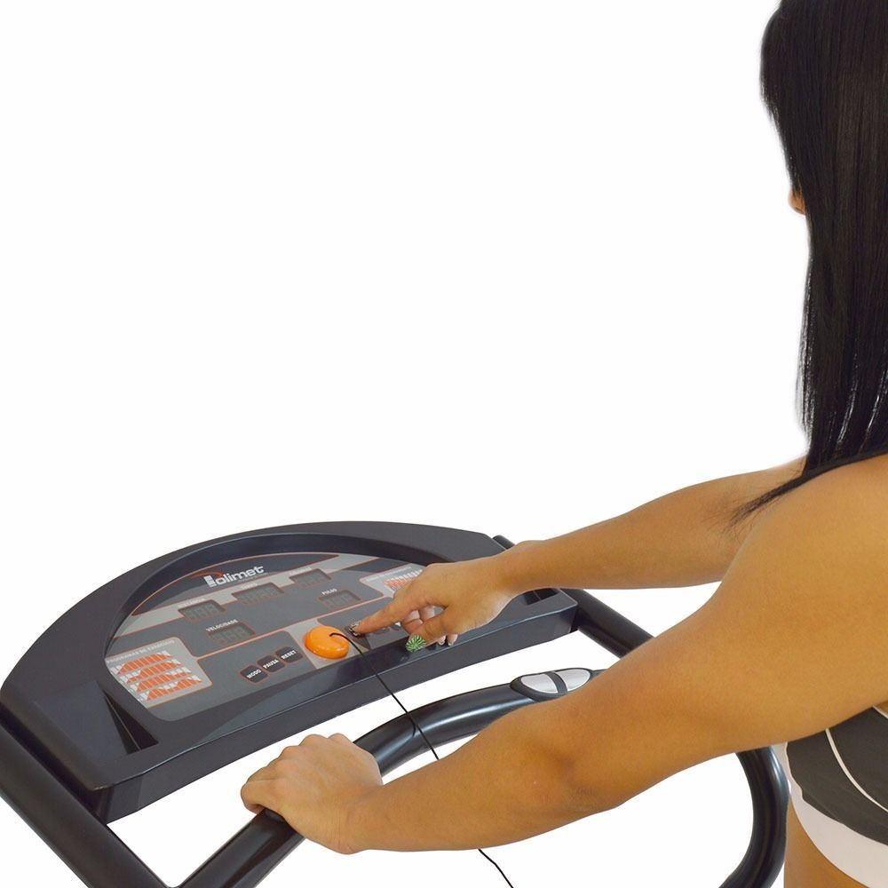 Esteira EP-3800 2,1HP Painel 5 Funções 4 Programas de Exercícios Bivolt Polimet