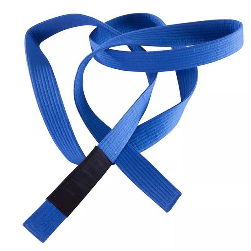 Faixa De Graduação P/ Kimono Jiu Jitsu A2 Azul BJJ Pretorian