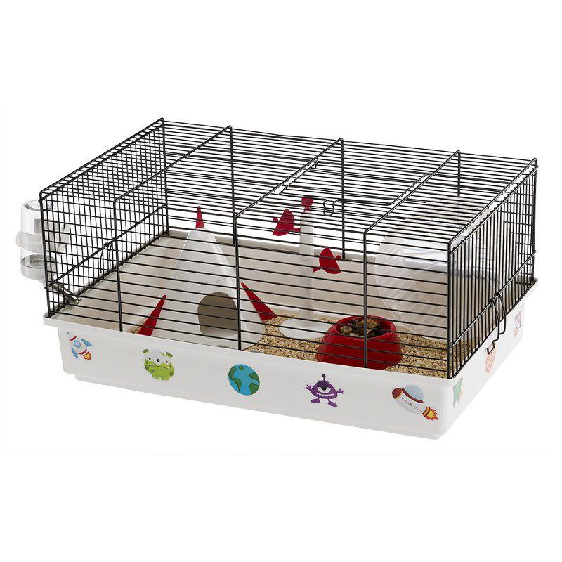 Gaiola Criceti 9 Espaço Resistente para Hamsters  - Ferplast