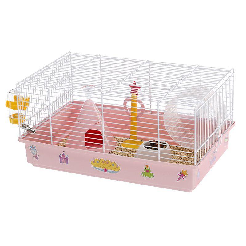 Gaiola Criceti 9 Princesa Resistente para Hamsters - Ferplast