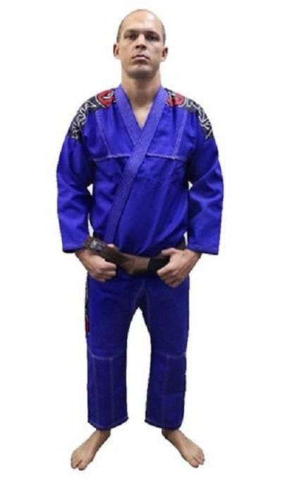 Kimono Jiu Jitsu Training - Naja - Azul Royal