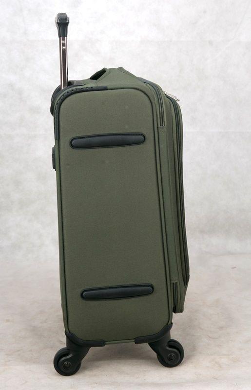 kit de malas austria jbm901 P, M, G ultraleve verde musgo santino