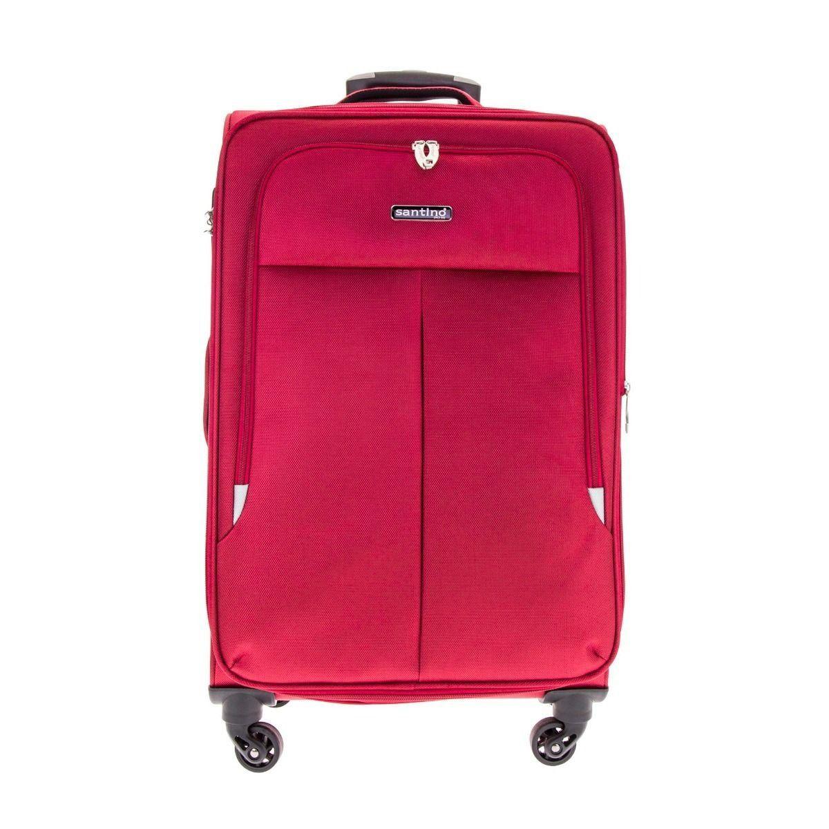 kit de malas SSV8002 P, M  e G vermelho santino