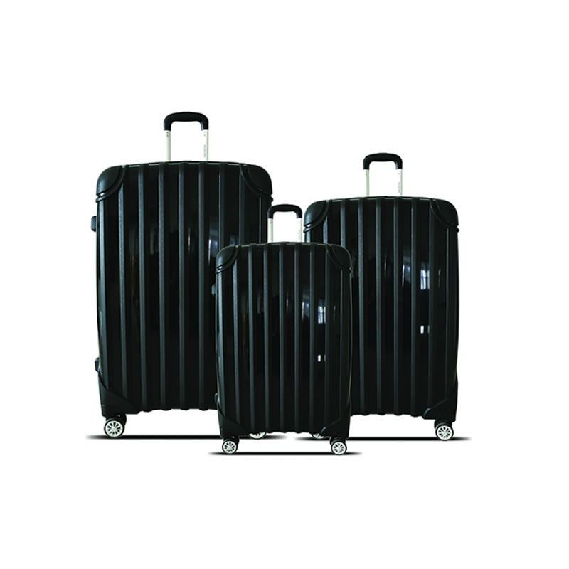 kit malas de viagem california tov182 P, M, e G branco santino