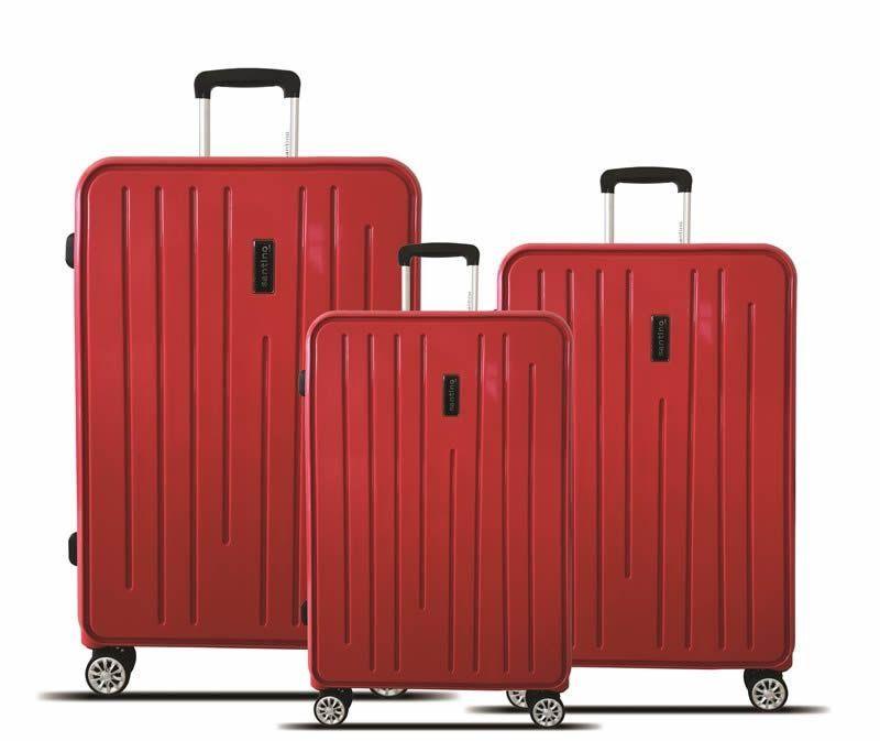 kit malas de viagem california tov182 P, M, e G preta santino