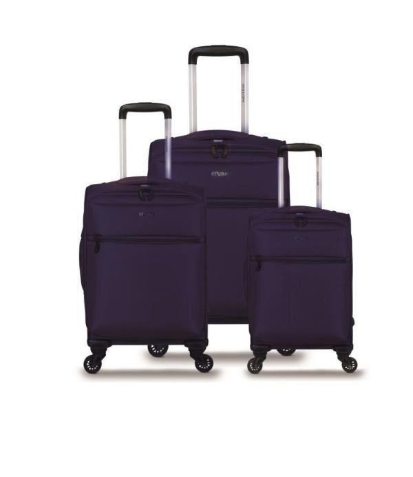 kit malas de viagem veneza hdv901 P,M e G ultraleve santino