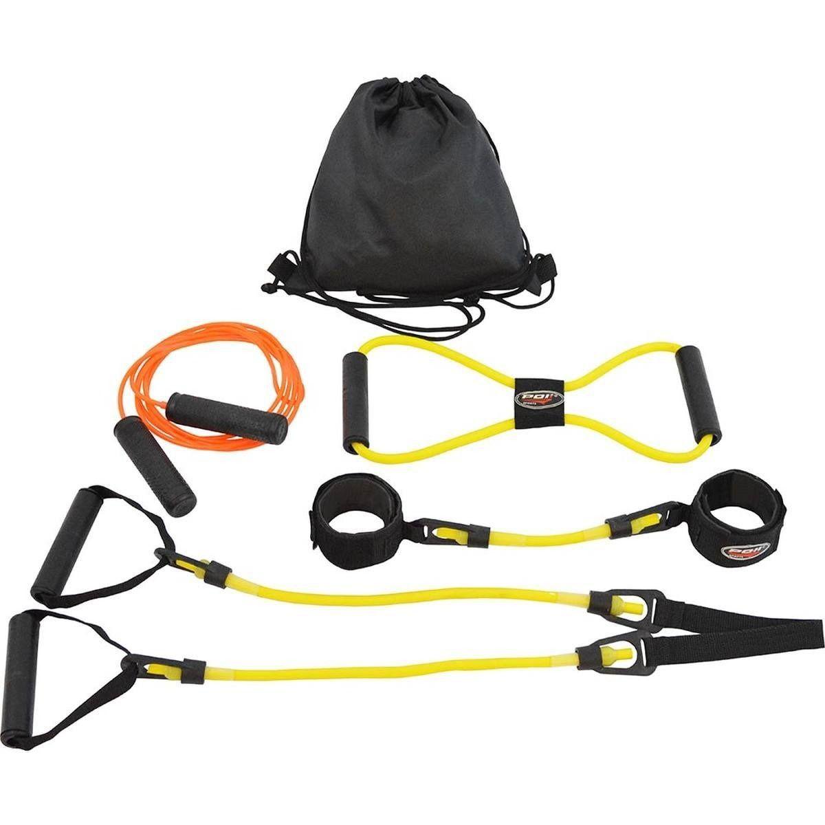 Kit Treinamento Funcional Baixa Intensidade Amarelo Polimet