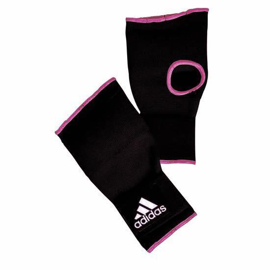 Luva Bandagem Inner Preto c/ Rosa - Adidas