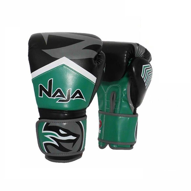 luva boxe muay thai naja new extreme verde