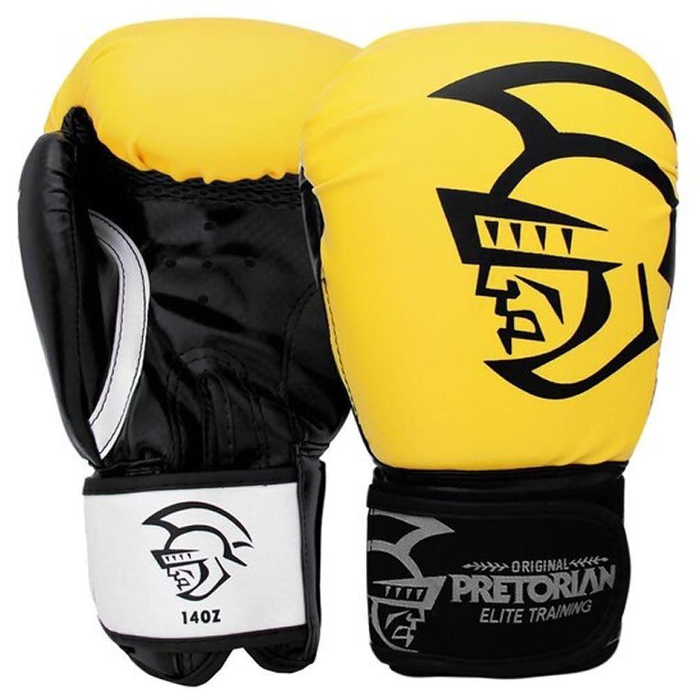 Luva De Boxe / Muay Thai Elite Training Acolchoada - Pretorian