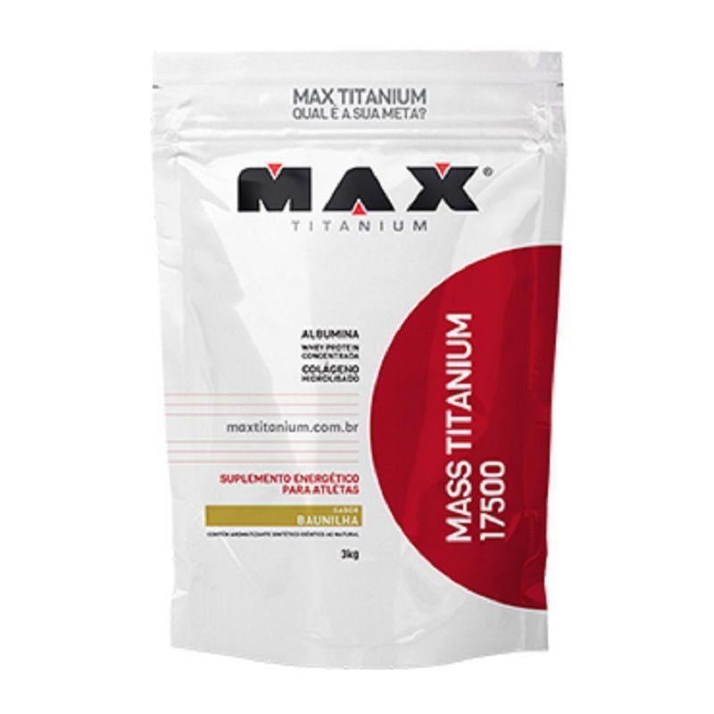 Mass Titanium Refil 17500 3kg - Max Titanium