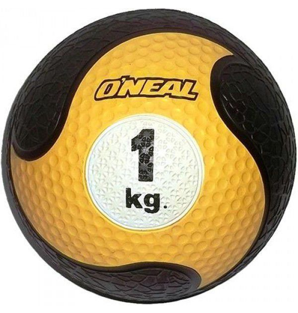 Medicine Ball Sem Alça Borracha Antiderrapante 1kg Oneal
