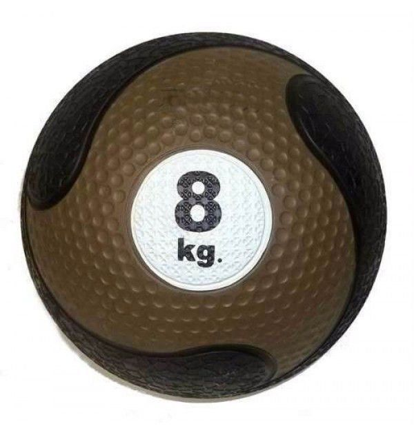 Medicine Ball Sem Alça Borracha Antiderrapante 8kg Oneal