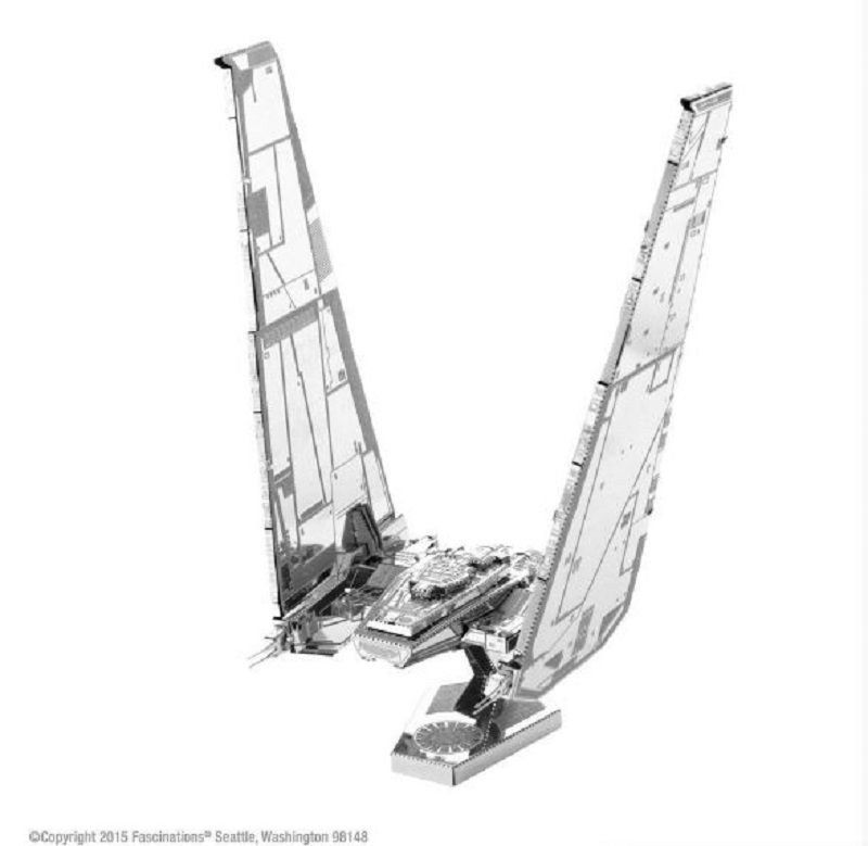 Mini Réplica de Montar STAR WARS Kylo Ren's Command Shuttle - Metal Earth