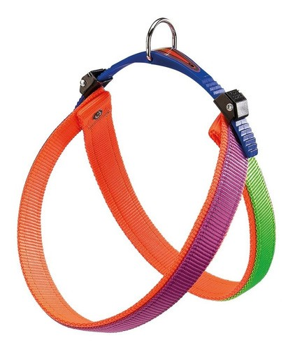 Peitoral Agila Dual Colours Articulada para Cães - Nº3 - Ferplast