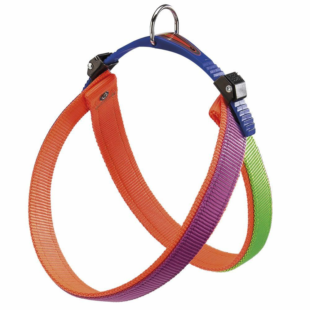 Peitoral Agila Dual Colours P/ Cães Nº6 - Colorido Ferplast