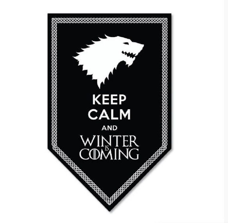 Placa Decorativa Keep Calm - Game Of Thrones - Beek