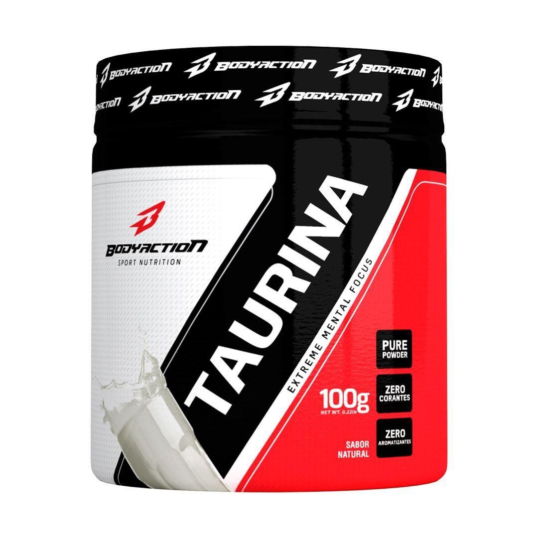 Pre Treino Taurina Extreme Mental Focus 100g Natural Bodyaction