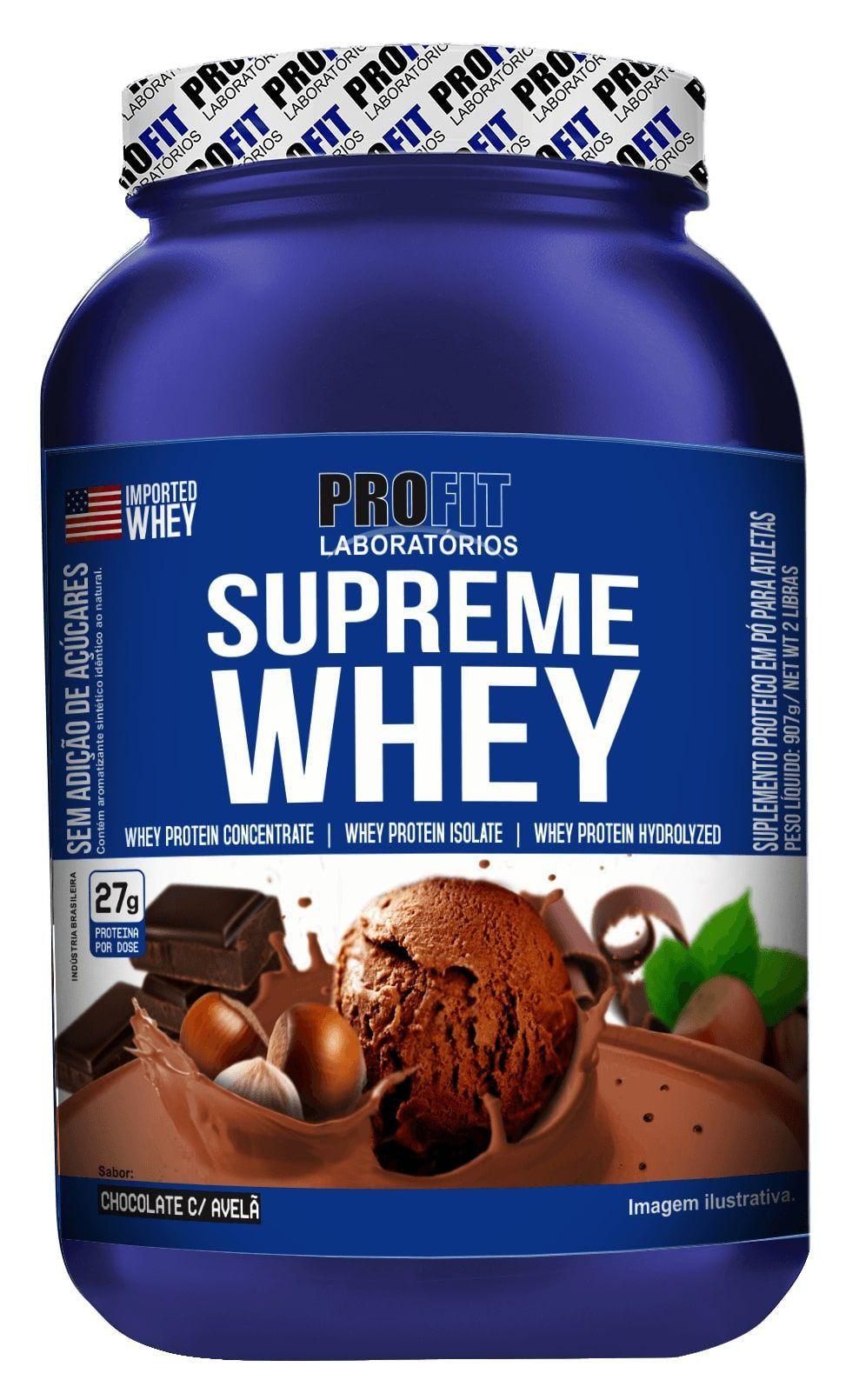 Proteina Whey Protein Supreme Whey 900g Profit