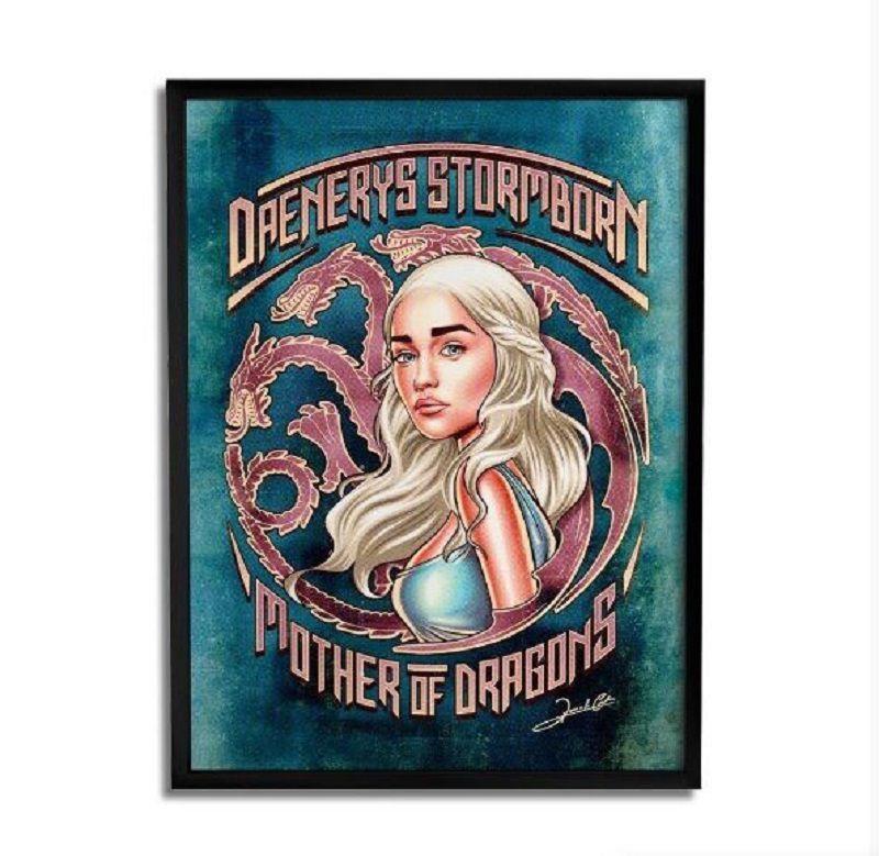 Quadro Decorativo Daenerys By Renato Cunha - Beek