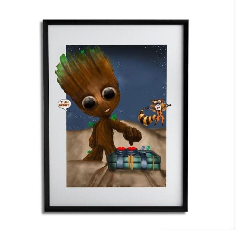 Quadro Decorativo Groot By Júlio Magah