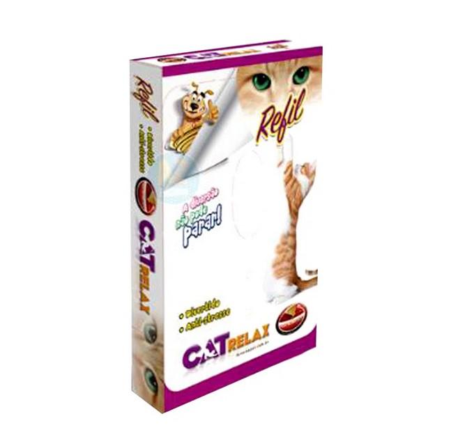 Refil Papelão para Brinquedo Cama de Gato Cat Relax - Grande - Furacão Pet