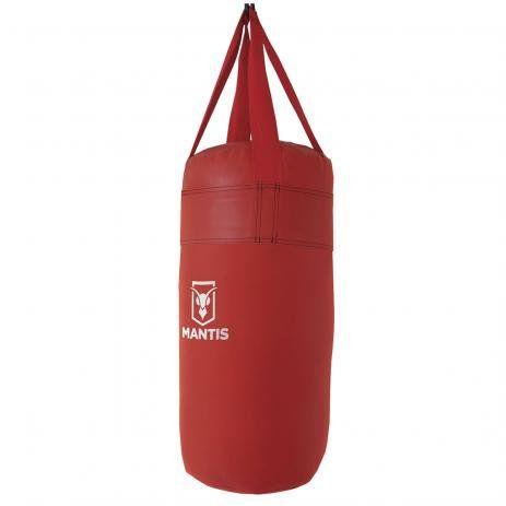 Saco de Pancadas Vermelho Com Enchimento 60cm Polimet