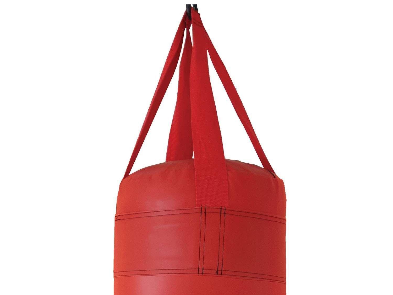 Saco de Pancadas Vermelho com Enchimento 90cm Polimet