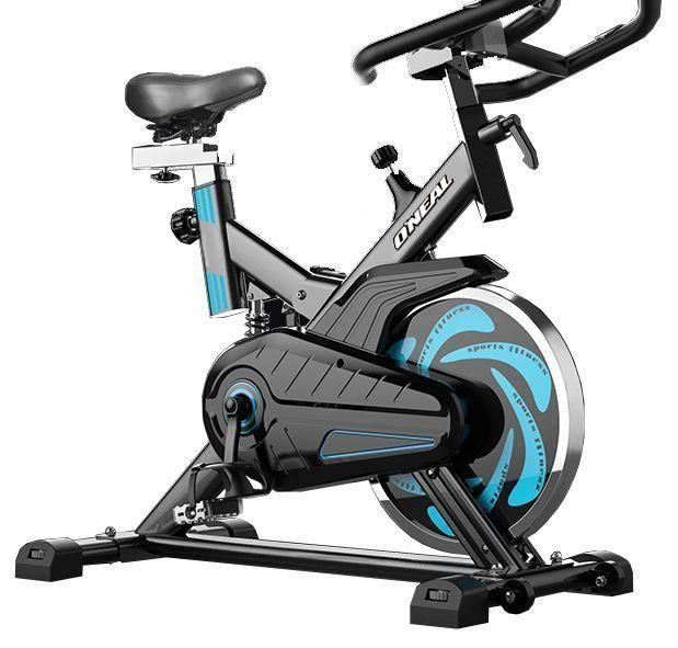 Spinning Bike Oneal Residêncial Sistema de Correia TP1000 - Preto c/ Azul