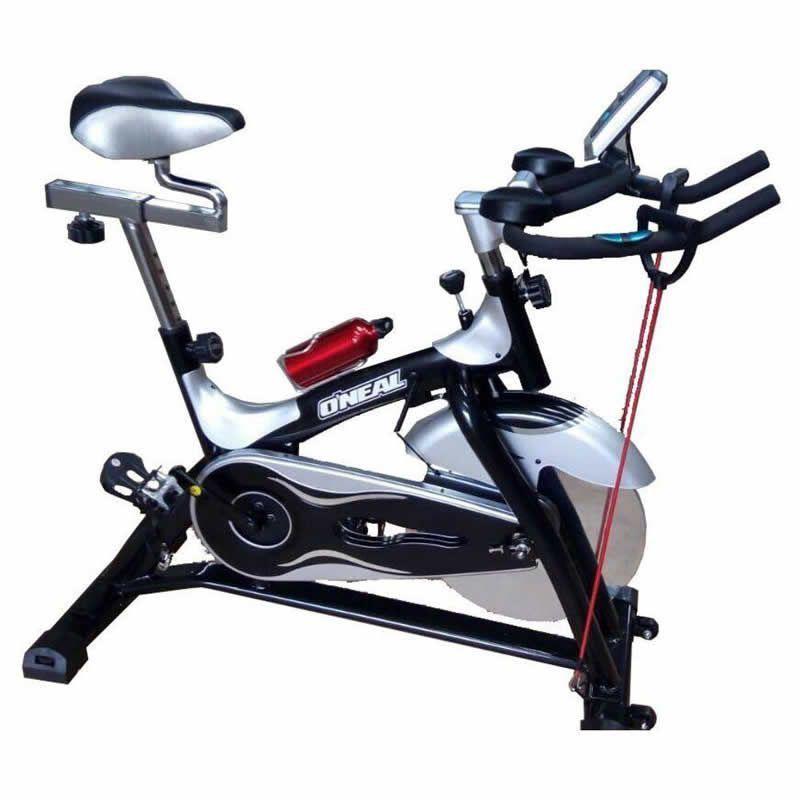 Spinning Bike Oneal TP2000 - Vermelho c/ Prata