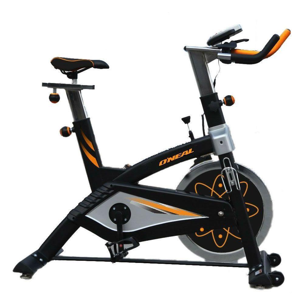 Spinning Bike Pro BF068 Pintura Eletro Estática Oneal Preto c/Laranja