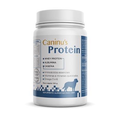 Suplemento Nutricional Caninu's Protein Mini para Cães - 100g - Avert