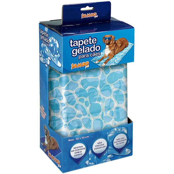 Tapete Gelado Marine Cool para Pets - Grande - Jambo Pet