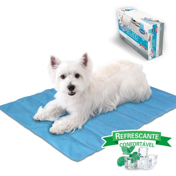 Tapete Gelado Pet Cooling Mat para Pets - Grande - Chalesco