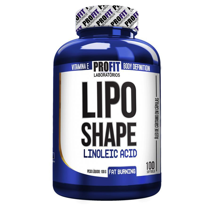 Termogênico Lipo Shape 100 Softgels Profit