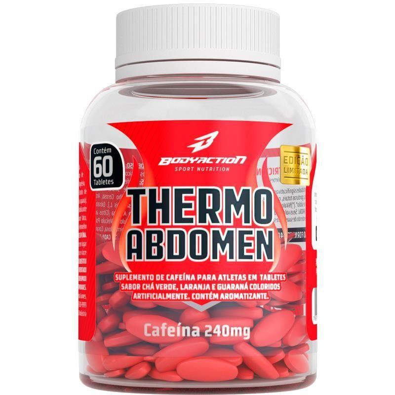 Termogênico Thermo Abdomen Bodyaction 60 Comprimidos