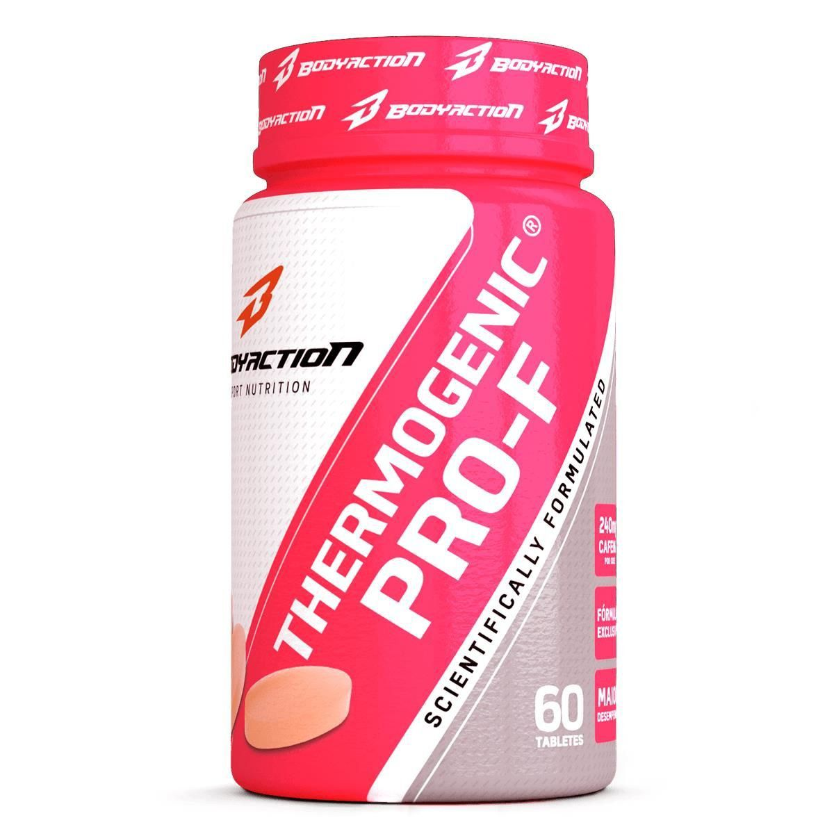 Thermogenico Thermogenic Pro-f Feminino 60 tablets BodyAction
