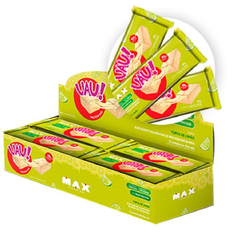 Uau Protein Bar 12UN 45g - Max Titanium