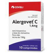 Alergovet C 1,4 Mg - 10 Comprimidos