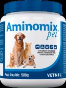 Aminomix Po Pet Com 500 Gramas Vitamina Cão E Gato