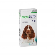Bravecto de 10 a 20 kg  Antipulgas e carrapato Oral Cães Comprimido Mastigável 500 mg