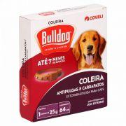 Coleira Bull  Dog Pulgas E Carrapatos Duração 7 Meses 64cm