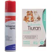 Fungicida E Sarnicida Para Cachorro Tetisarnol  + Sabonete