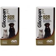 Glicopan Pet vitamina cão 125 Ml Kit 2 Unidades